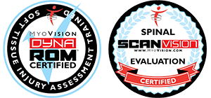 MyoVision DynaROM Certificate | Spinal ScanVision Certification